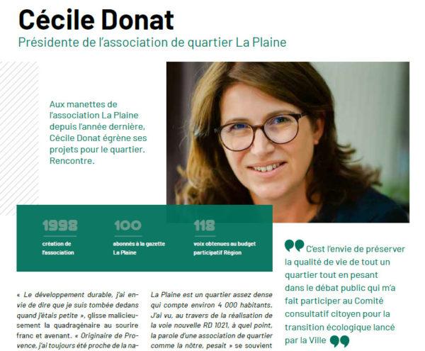 Portrait local, Cécile Donat est dans Sartrouville MAG'