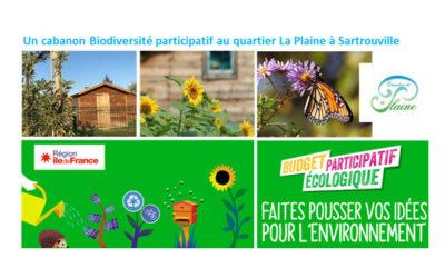 Ancrage local citoyen : votez pour le Budget participatif écologique et solidaire d'Ile-de-France, en ce moment même !