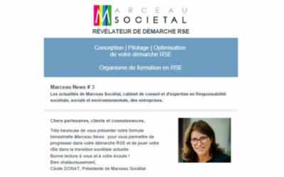 Marceau News # 3 – Novembre 2020